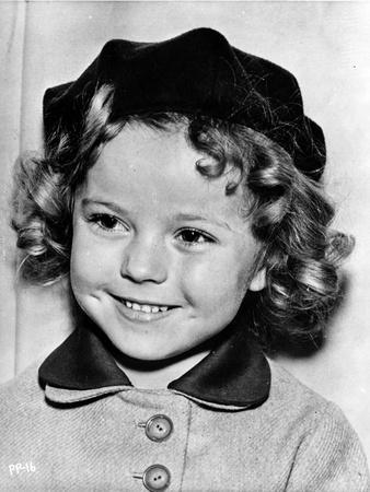 Shirley Temple smiling Pose in Classic Portrait
