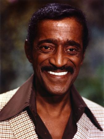 Sammy Jr Davis smiling Close Up Portrait