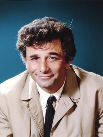 Peter Falk smiling in Formal Outfit