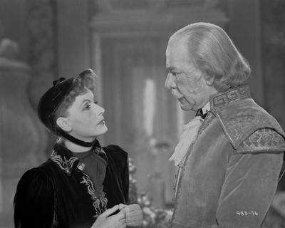 Greta Garbo Listening to a Man