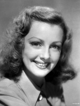 Virginia Grey smiling Portrait
