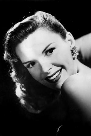 Portrait of Judy Garland with Black Background