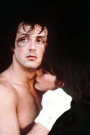 Sylvester Stallone Couple Scene in a Movie