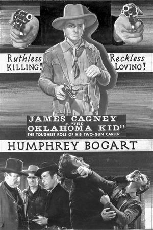 Advertisement for The Oklahoma Kid.