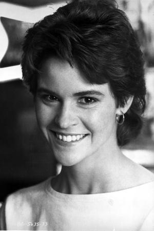 Ally Sheedy smiling and Looking at the Cameara in Portrait
