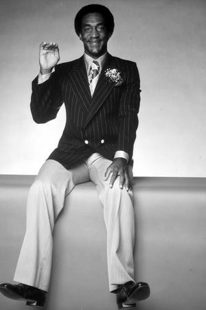 Bill Cosby in Black Suit