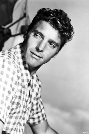 Burt Lancaster wearing a Checkered Polo Shirt