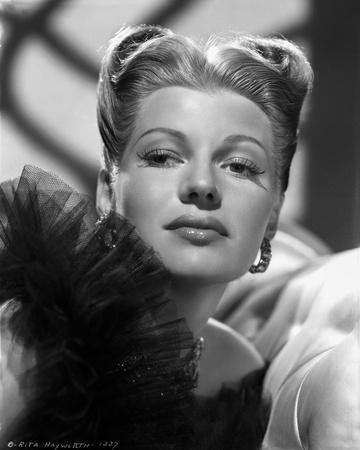Rita Hayworth Head Shot Portrait