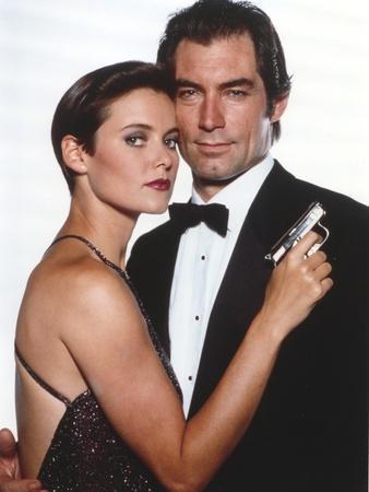 Timothy Dalton in Tuxedo Couple Portrait