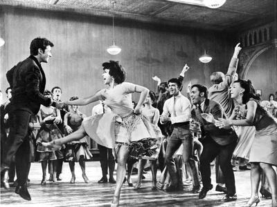 West Side Story People Dancing and Cheering
