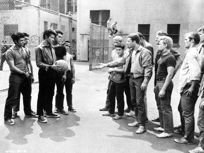 West Side Story People Wants to Play Street ball