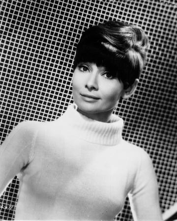 Audrey Hepburn posed in White Sweater