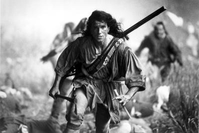 Daniel Lewis Wlaking in Swordsman Outfit