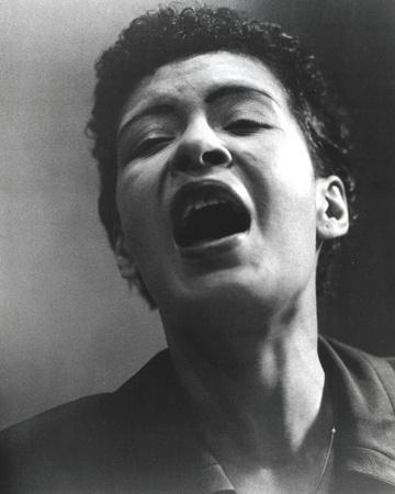 Billie Holiday Screaming Portrait