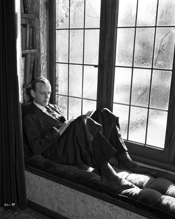 Fred Astaire Seated beside Window