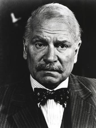 Laurence Olivier in Formal Suit with Bowtie Close Up Portrait