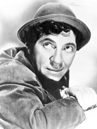 Marx Brothers Close Up Portrait with a Man in Black Hat- Photograph Print