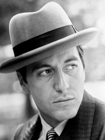 Al Pacino Facing Left wearing a Hat Close Up Portrait