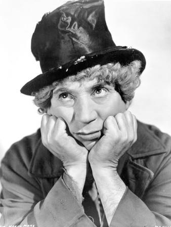 Marx Brothers Portrait of a Man wearing a Magician Hat