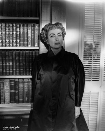 Joan Crawford wearing a Black Chinese Dress in Classic