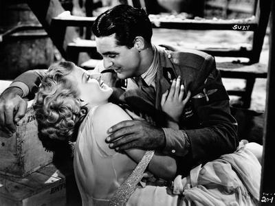 Jean Harlow Couple Shot Kissing Scene from a Film