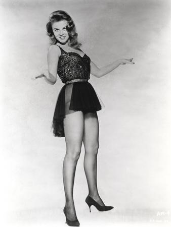 Ann Margret wearing a Black Mini Dress in Classic