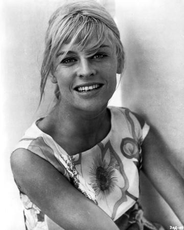 Julie Christie Portrait, smiling and Blonde Hair