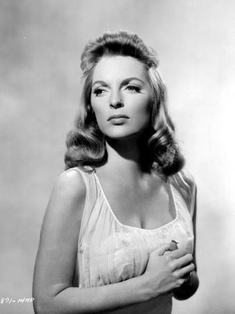 Julie London on a See Through Dress Top Portrait