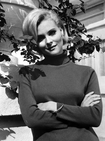 Diane McBain Classic Portrait wearing Sweater