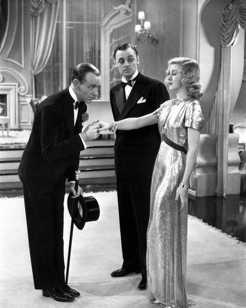 Fred Astaire and Ginger Rogers Kissing Hand