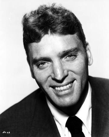Burt Lancaster Wearing A Black Suit And Tie Photo By Movie