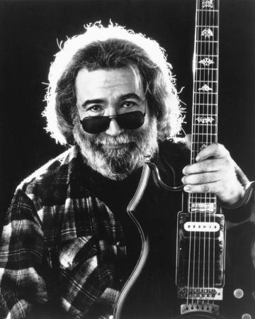 Grateful Dead Portrait in Black and White