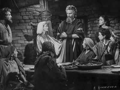 Ten Commandments Group Talking in Classic