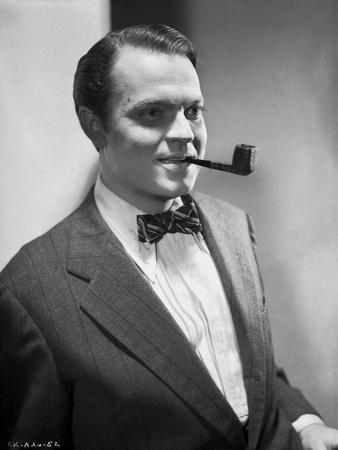 Orson Welles Portrait in Bowtie and Coat