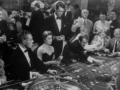 To Catch A Thief on the Casino Movie Scene