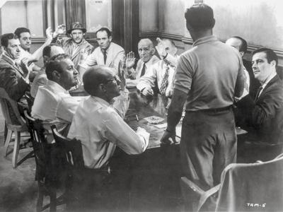 Twelve Angry Men Conference Room Scene