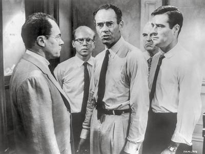 Twelve Angry Men Movie Scene in Classic