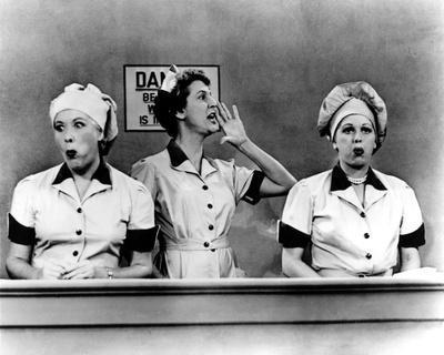 Lucille Ball Three Woman in Movie Scene