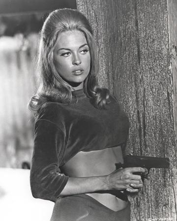 Faye Dunaway Holding Pistol in Classic