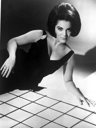 Connie Francis Reclining in Classic