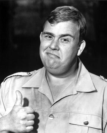 John Candy in Police Uniform Portrait