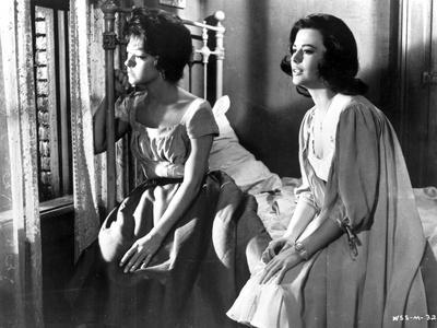 West Side Story Two Women Seated on Bed