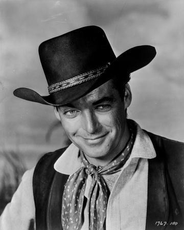 Rory Calhoun Posed in Cowboy Outfit