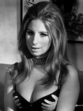 Barbra Streisand Portrait In Lingerie