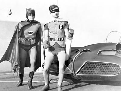Batman with Robin in Classic Portrait