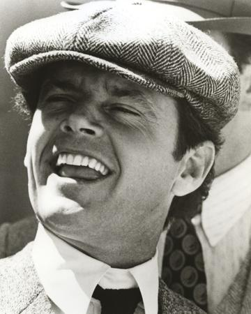 Jack Nicholson with a Printed Hat