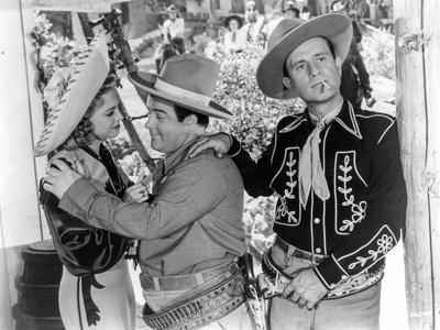Abbott & Costello in Cowboy Hats