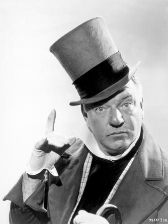 W C Fields Man on Magician's Hat