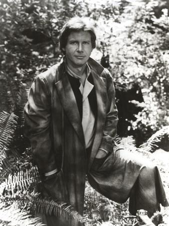 Harrison Ford in a Leather Jacket