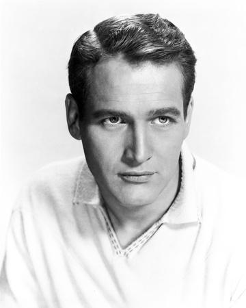 Paul Newman Portrait in Polo Shirt